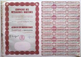Compagnie Des Messageries Maritimes - Transport