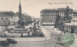 T.722.  MILANO - Piazza 5 Giornate E Corso Vittoria - 1927 - Milano