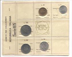 Italia - Serie Annuale In Confezione FDC 5 Monete - 1975 - 1946-… : Repubblica