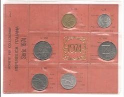 Italia - Serie Annuale In Confezione FDC 6 Monete - 1974 - 1946-… : Repubblica