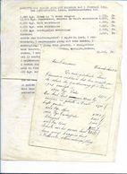 DP16/ WILMARSDONK  AANGIFTE OVERSTROMINGSSCHADE 1953 VAN LOUIS ADRIAENSSENS - Old Paper