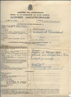 DP18/ 2e W.O.: WILMARSDONK AANGIFTE SCHADEGEVAL 10p. BOULEVARD 226 - Old Paper