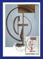 Frankreich  1988 Mi.Nr. 2687 , EUROPA CEPT Sympathie Mitläufer - Dänisch-Französisches Kulturjahr - Maximum Karte - - Europa-CEPT