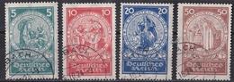 Rie_ Deutsches Reich - Mi.Nr. 351 - 354 - Gestempelt Used - Allemagne