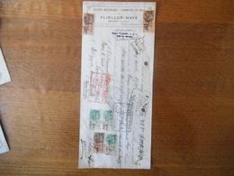 KRUTH HAUT-RHIN FLIELLER-HAVE SCIERIE MECANIQUE COMMERCE DE BOIS TRAITE DU 5 FEVRIER 1933 TIMBRES FISCAUX - France