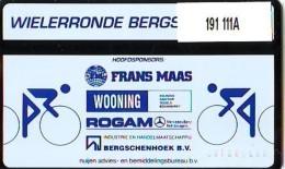 Telefoonkaart  LANDIS&GYR  NEDERLAND * RCZ.191  111A * WIELRENNEN BERGSCHENHOEK * TK *  ONGEBRUIKT * MINT - Sport