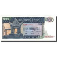 Billet, Cambodge, 100 Riels, Undated (1962-75), KM:12b, NEUF - Cambodia