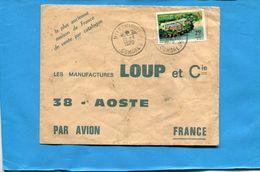 Marcophilie-Comores-lettre >Françe-cad 1970-+Mitsamiouli Stamp N°40  HOTEL - Comores (1950-1975)