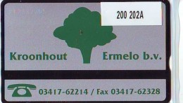 Telefoonkaart  LANDIS&GYR  NEDERLAND * RCZ.200   202A * Kroonhout * TK *  ONGEBRUIKT * MINT - Nederland