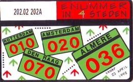 Telefoonkaart  LANDIS&GYR  NEDERLAND * RCZ.202.02  202A *Abonneenummer 7 In 4 * TK *  ONGEBRUIKT * MINT - Privé