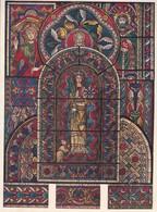PEINTURE SUR VERRE.-ART HISTORY LAMINA SHEET PLANCHE-BLEUP - Posters