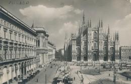 T.746.  MILANO - Piazza Del Duomo - 1928 - Timbro A Targhetta - Milano