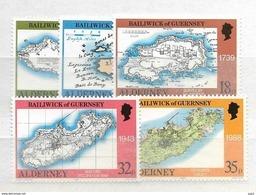 1989 MNH Alderney Postfris - Alderney