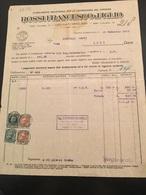 DITTA ROSSI FRANCESCO-GENOVA-CORNIGLIANO-25-2-1933-LAVORAZIONE DEL SUGHERO - Italia
