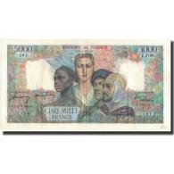 France, 5000 Francs, 5 000 F 1949-1957 ''Terre Et Mer'', 1947-07-17, SUP - 1871-1952 Frühe Francs Des 20. Jh.