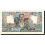 France, 5000 Francs, 5 000 F 1949-1957 ''Terre Et Mer'', 1947-07-17, SUP - 1871-1952 Gedurende De XXste In Omloop