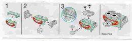 BPZ092 France : Ref : K04-43 Série Commode, Four Et Juxe-boxes / Juke-boxes - Instructions