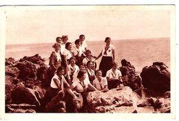 34 HERAULT Un Jeune Groupe D'Unionistes Au Camp De SETE Eclaireuses - Sete (Cette)