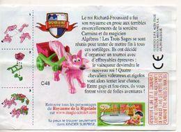 BPZ095 France : Ref : C48 Série Le Royaume De La Rigolade : Les Charrettes / Renard Avec Charrette Rose - Instructions