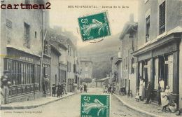 BOURG-ARGENTAL AVENUE DE LA GARE ANIMEE 42 - Bourg Argental