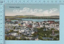 Montreal Quebec -  Vue De Montreal, Par Novelty CPA - Carte Postale - Montreal