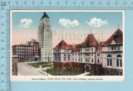 Quebec - Nouvelle Edifice Price Bross. Co, Ltd - Carte Postale - Québec - La Cité