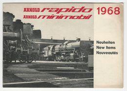Advertising Catalog * Arnold Rapido * 1968 * Trains - Advertising