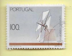 TIMBRES - STAMPS - PORTUGAL - 1989 - MOULINS À VENT FIXES / CALDAS DA RAINHA - TIMBRE OBLITÉRÉ CLÔTURE DE SÉRIE - Oblitérés