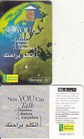 EGYPT - Earth, Now You Can Talk, Menatel Telecard 30 L.E., CN : 0005, Chip GEM3.3, Used - Egypt