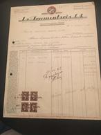 8-10-1945-CASALMAGGIORE-CREMONA-DITTA LA FRUMENTARIA-MOLI I A CILINDRI-- - Italia