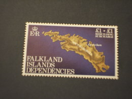 FALKLAND DEPENDENCIES - 1982 ISOLA Lgs. 1 + 1 - NUOVI(++) - Falkland
