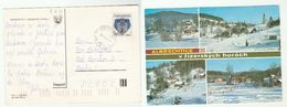 1990 CZECHOSLOVAKIA Stamps COVER (postcard ALBRECHTICE) - Czechoslovakia