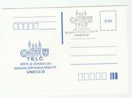 1993 CZECH REPUBLIC  TELC UNESCO EVENT COVER Card Un United Nations - UNESCO