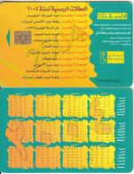 EGYPT(chip) - Calendar 2004, Menatel Telecard 15 L.E., Chip GEM3.3, CN : 0147, Used - Egypt