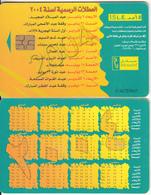 EGYPT(chip) - Calendar 2004, Menatel Telecard 15 L.E., Chip GEM3.3, CN : 0146, Used - Egypt
