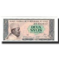 Billet, Guinea, 2 Sylis, 1981, KM:21a, SPL - Guinée