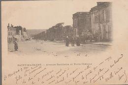 St Maixent-  Avenue Gambetta Et Porte Chalons - Saint Maixent L'Ecole