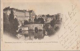 Thouars- Vue Générale Prise Du Pont De La Route De Parthenay - Thouars