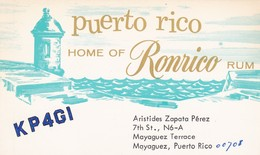 CARTOLINA - POSTCARD - PUERTO RICO- RADIO AMATORI - Cartoline