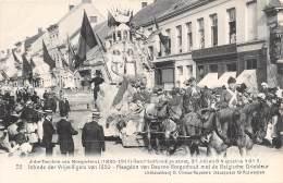 Jubelfeesten Van BORGERHOUT (1836-1911) - Geschiedkundige Stoet - 35 - Intrede Der Vrijwilligers Van 1830 - ... - Antwerpen