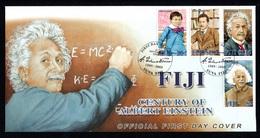 FIJI 2005 Century Of Albert Einstein: First Day Cover CANCELLED - Fiji (1970-...)