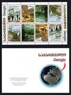 GEORGIA 2003 Tourism: Stamp Booklet UM/MNH - Géorgie