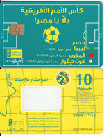EGYPT - Football Field, Menatel Telecard 10 L.E., CN : 0233(thin), Chip GEM3.3, Used - Egypt