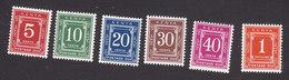 Kenya, Scott #J1-J7, Mint Hinged, Postage Due, Issued 1967 - Kenya (1963-...)