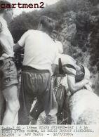 PHOTOGRAPHIE ANCIENNNE TOUR DE FRANCE 1960 AVIGNON-GAP LE BELGE PROOST CYCLISME SPORT CYCLISTE - Sports