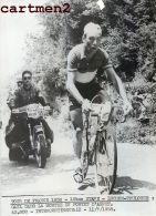 PHOTOGRAPHIE ANCIENNNE TOUR DE FRANCE 1958 LUCHON-TOULOUSE GAUL PORTET D'ASPET CYCLISME SPORT CYCLISTE - Sports