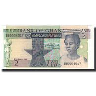Billet, Ghana, 2 Cedis, 1982-03-06, KM:18d, NEUF - Ghana
