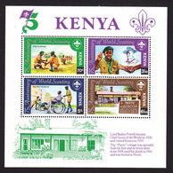 Kenya, Scott #224, Mint Never Hinged, Scouts, Issued 1982 - Kenya (1963-...)