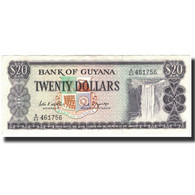 Billet, Guyana, 20 Dollars, 1989, KM:24d, SPL - Guyana