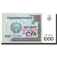 Billet, Uzbekistan, 1000 Sum, 2001, 2001, KM:82, NEUF - Ouzbékistan